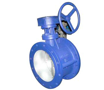 Spring - type fast closing butterfly valve